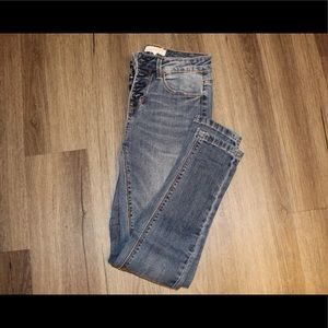 Women's Button front jeans